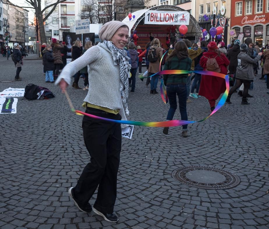 Tanz gegen Gewalt