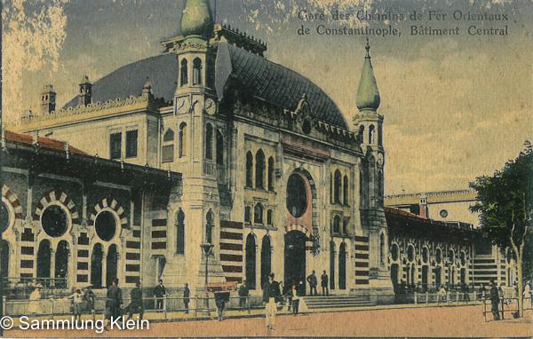 Konstantinopel HBF © Sammlung Klein