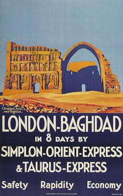Simplon Orient Express Litho Roger Broders 1931 © Dt Plakatmuseum